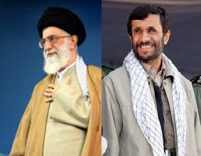 khameneie Ahmadinejad